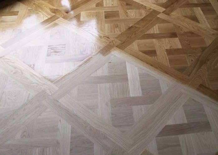 Panneaux et motifs contrecollé en chêne Premier - 16 x 1000 mm - Versailles