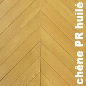 Parquet massif Chene premier Point Hongrie - 14 x 90 x 500/600mm brut - Paris