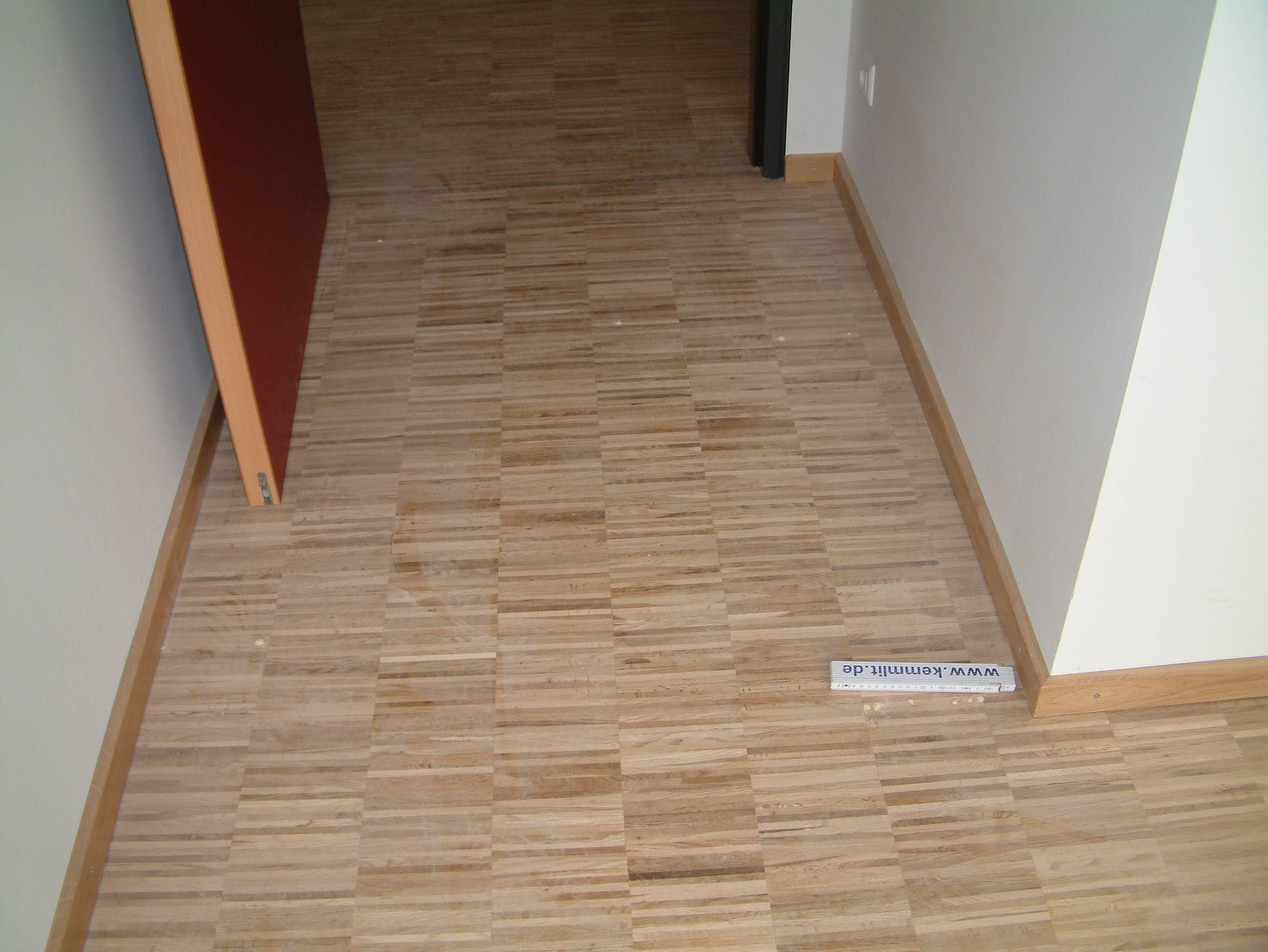Parquet Industriel Chene - 10 x 16 x 160 mm sur chants - Issoire