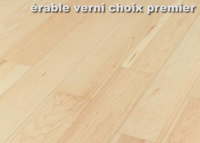 Parquet Erable Sycomore massif - 15 x 90 mm brut - Bas Rhin