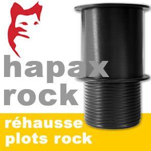 Hapax - Plot de fondations réhausse - Hapax