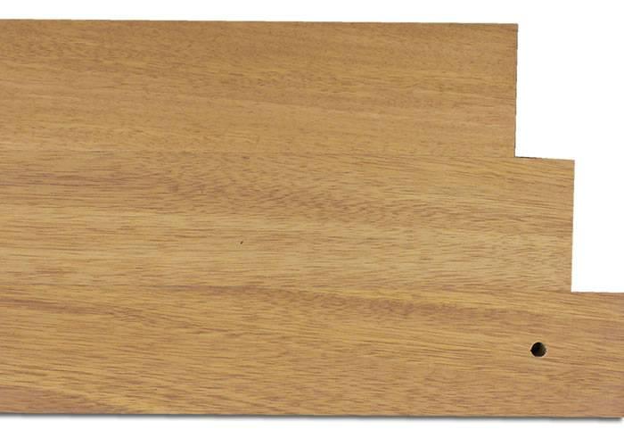 Parquet massif planchette Movingui - 08 x 50 x 300 mm - brut Exotique