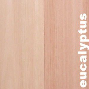 Parquet Contrecollé Eucalyptus - 13 x 90 mm - verni ou huilé