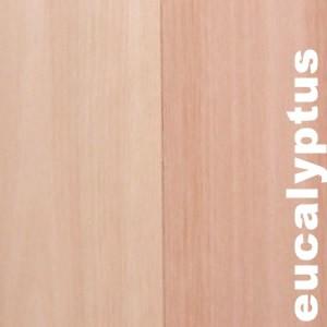 Parquets contrecollés -+ 14 mm en Eucalyptus