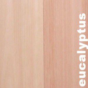 Parquet Contrecollé Eucalyptus 18,5 x 140 mm - verni ou huilé