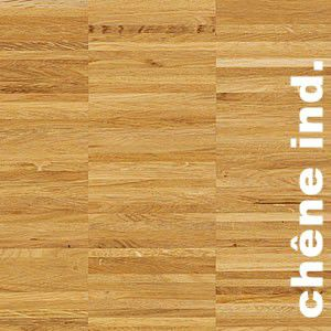 Parquet Industriel Chene - 16 x 12 x 160 mm - brut - Bordeaux