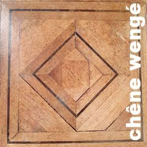 Panneaux et motifs contrecollés en Chêne Premier et Wengé - 26 x 500 mm - Lyon