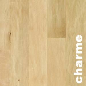Parquet massif planchette Charme Premier - 10 x 50 x 250 mm - brut