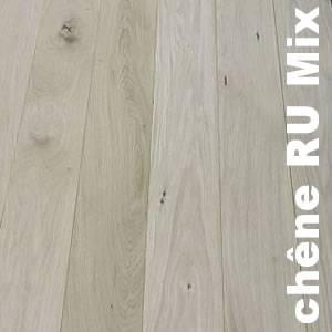 Parquet Contrecollé Chêne Rustique - 15 x 190 - brut - veilli