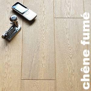 Parquet contrecollé Chêne Rustique - 10 x 150 x 1900 mm - huilé