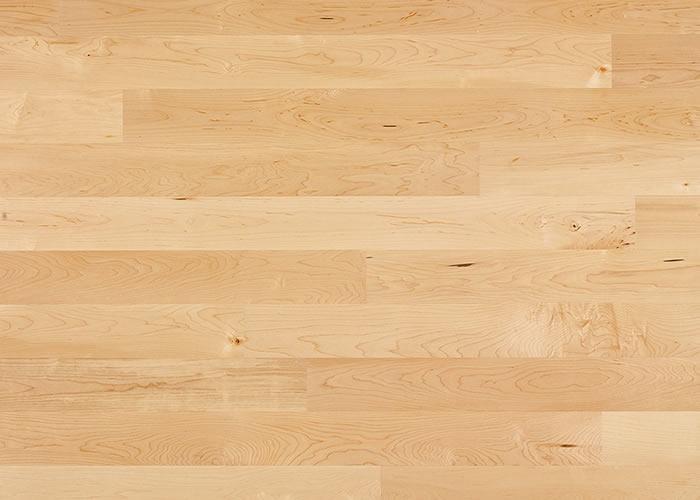 Parquet contrecollé Erable Sycomore - 14 x 145 x 1860 mm - verni mat
