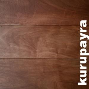 Parquet massif Kurupayra - 20 x 190 mm rustique
