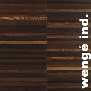 Parquet Industriel Wenge - 14 x 14 x 250 mm sur chants