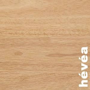 Parquets contrecollés -+ 14 mm en Hevea ou Rubberwood