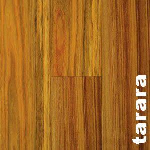 Parquet contrecollé Tarara Amarillo - 16 x 135 mm - brut - 4 mm