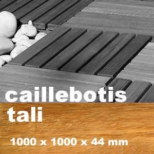 Caillebotis en exotique en Tali, Elondo