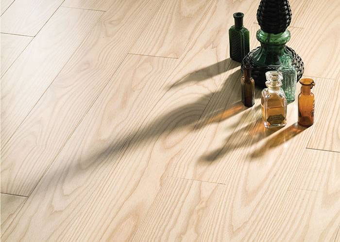 Parquet massif Frene Europe PR - 21 x 150 mm