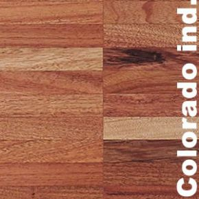 "Parquet massif surchant Tarara Colorado"" - 14 x 22 x 250 mm industriel"