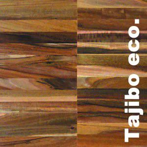 Parquet industriel Tajibo Eco - 14 x 22 x 250 mm - sur chants
