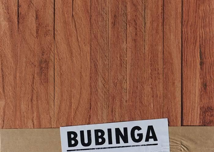 Parquet Industriel Bubinga - 14 x 17 x 300 mm sur chants