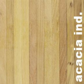 Parquet Industriel Acacia - 14 x 14 x 190 mm sur chants