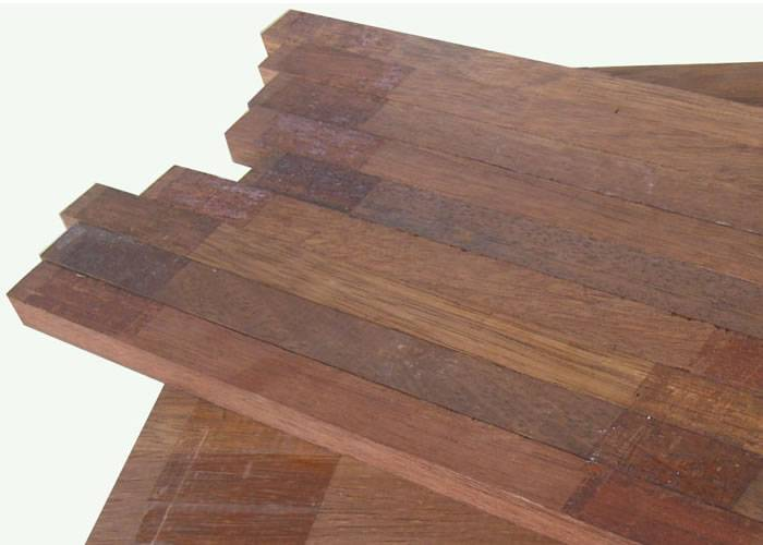 Parquet Industriel Merbau - 15 x 16 x 320 mm sur chants massif
