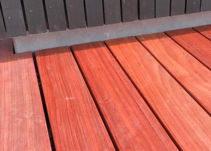 Lame de terrasse Padouk - 20 x 100 mm - Ecocertifié - Profil Softline
