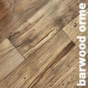 Parquet contrecollé Barnwood Orme Nature - 20 x 120 à 240 mm -