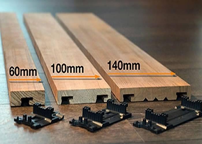Bardage boîte de clips Techniclic - Clips 60 mm - 340 pièces