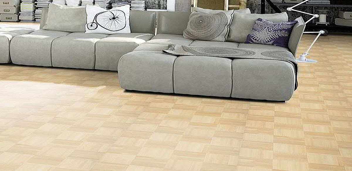 Parquet Industriel mosaique a damier en Erable US - 8 x 160 x 160 mm
