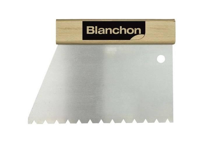 Spatule à dents pour colle à parquets - BLANCHON TKB B11