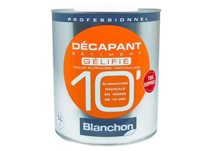 Entretien - Décapant Bâtiment 10' Blanchon - Gélifié 5 Litres