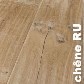 Parquet massif Chene Europe RU - 14 x 70 mm brut