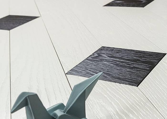 Parquet contrecollé en Chêne - 11 x 100 x 700-900 - Cabochons