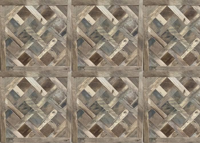 Panneaux et motifs en chêne - 23 x 1000 mm - brut - Versailles