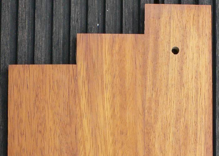 Parquet massif planchette Iroko Prestige - 15 x 75 x 500 mm - brut - Couleurs Homogènes