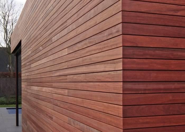 Lame de terrasse Merbau - 20 x 100 mm - Ecocertifié - Profil Softline