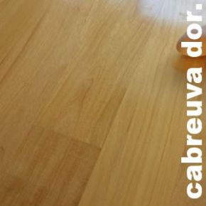 Parquet contrecollé Cabreuva Dorada - 16 x 180 verni