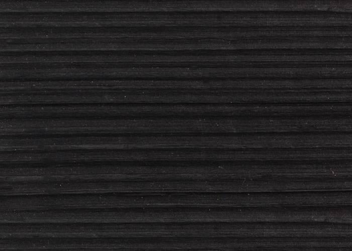Bardage en bois brûlé Douglas - 22 x 140 mm - Brûlé Noir - Bords droits