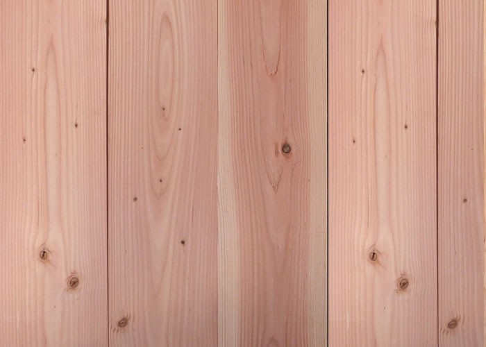 Terrasse - Lames parquet massif Red Cedar - 21 x 145 x 2000 mm