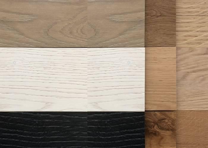 Parquet contrecollé chêne Premier - 5,5 x 130 / 140 x 600-1500 mm - Verni
