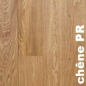 Parquet massif Chene Europe PR - 14 x 110 mm brut