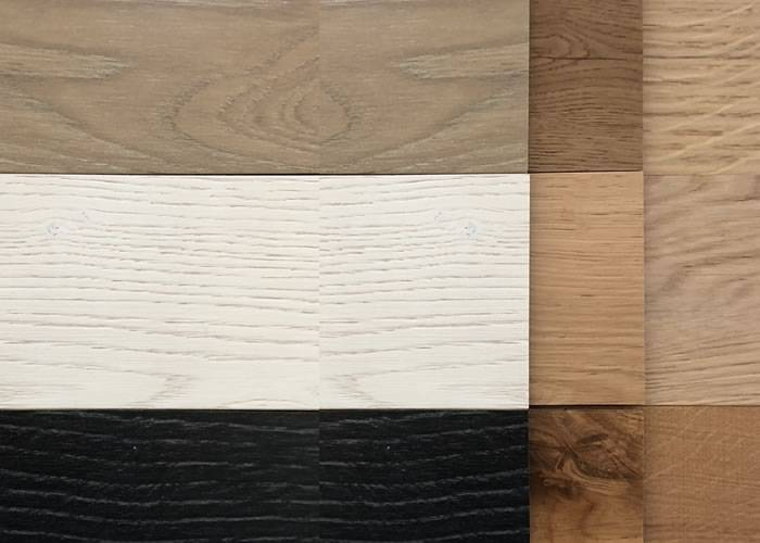 Parquet contrecollé chêne Premier - 5,5 x 175/185 mm - Verni