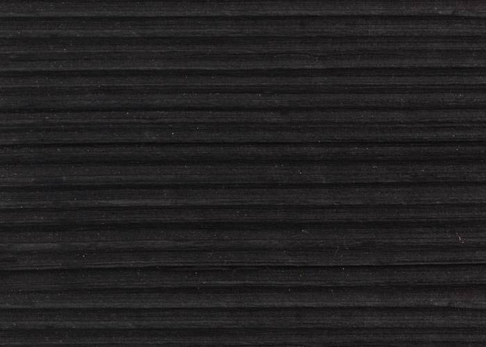 Bardage en bois brûlé Douglas - 21 x 185 x 2000 mm - profil droit - Brûlé Noir Croco