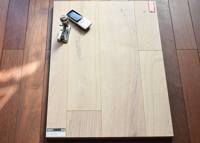 Parquet contrecollé Chêne Premier - 15 x 230 mm - verni