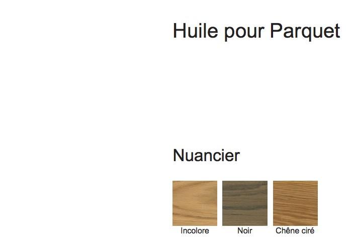 Finition - Huile pour parquets bruts - Blanchon - 1L