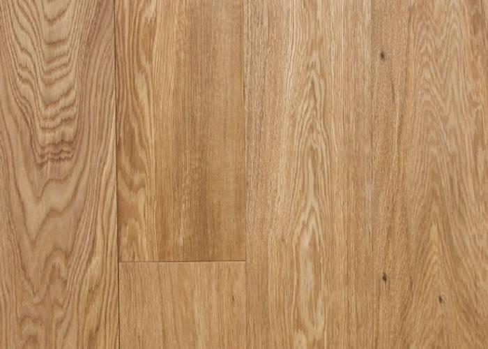 Parquet contrecollé Chêne Premier - 12 x 180 mm - verni - brossé