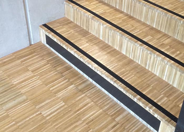 Parquet Industriel Chêne - 14 x 25 x 200 mm sur chants