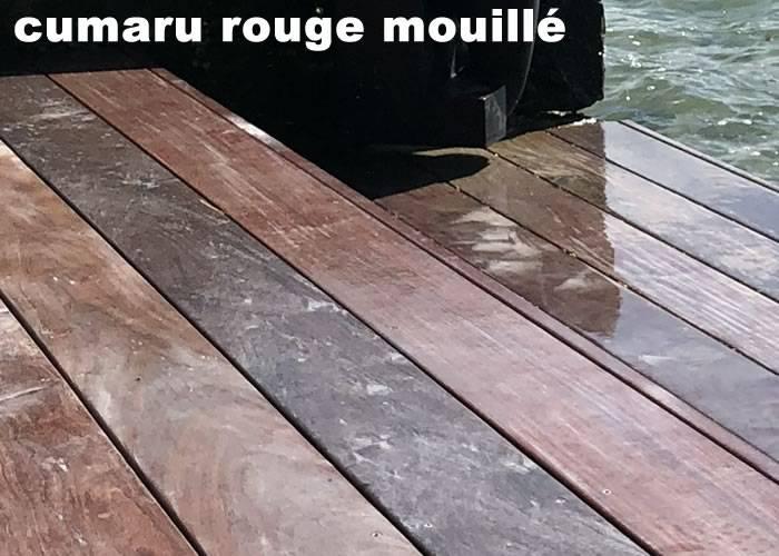 Lames de terrasse Cumaru Rouge - 21 x 145 mm - 2 Faces Lisses - LOTS