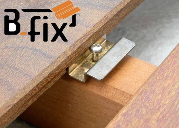 Clips B-Fix - fixation lame de terrasse - Kit 5 m2